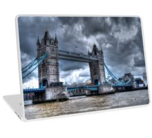 Tower Bridge #3 (The Dark & Moody One) Laptop Skin