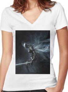 Soul Women's Fitted V-Neck T-Shirt