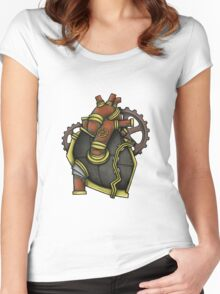 Iron Heart Women's Fitted Scoop T-Shirt