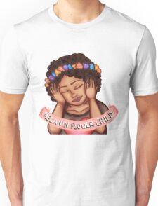 Melanin Flower Child Unisex T-Shirt