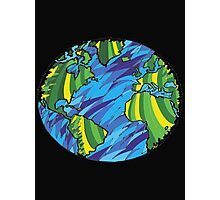 Earth, Planet Earth, Green Planet Photographic Print