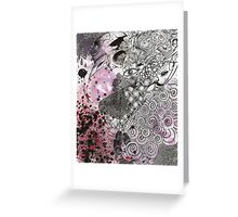 Scribble Greeting Card