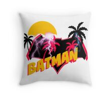 Super 80s Ben Affleck SodaPop Logo Throw Pillow