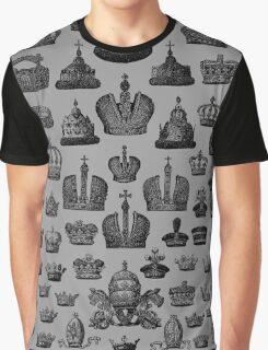 100 Black Crowns Graphic T-Shirt