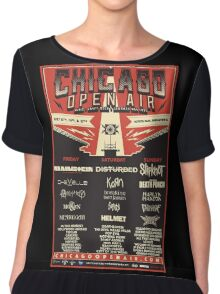 Chicago Open Air Music Festival 1 Chiffon Top