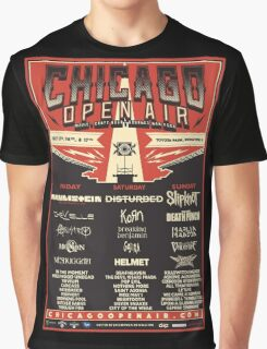 Chicago Open Air Music Festival 1 Graphic T-Shirt