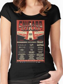 Chicago Open Air Music Festival 1 Women's Fitted Scoop T-Shirt