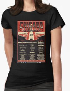 Chicago Open Air Music Festival 1 Womens Fitted T-Shirt