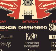 Chicago Open Air Music Festival 1 Sticker