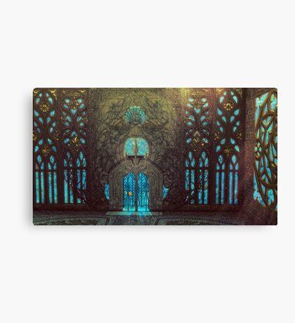 The Gate of Eternal Seas Canvas Print