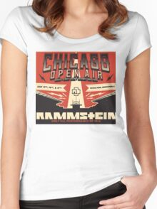 Chicago Open Air Music Festival 2 Women's Fitted Scoop T-Shirt