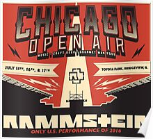 Chicago Open Air Music Festival 2 Poster