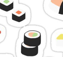 Sushi Lovers Rejoice Sticker