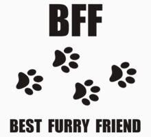 Best Furry Friend Kids Tee