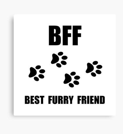 Best Furry Friend Canvas Print