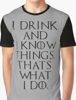 game of thrones drinking game  Graphic T-Shirt