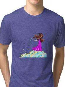 Cloud seeding Tri-blend T-Shirt