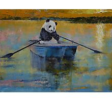 Panda Reflections Photographic Print