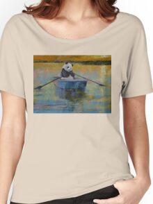 Panda Reflections Women's Relaxed Fit T-Shirt