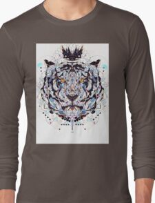 geometric colorful art Long Sleeve T-Shirt