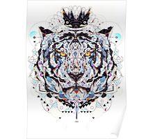 geometric colorful art Poster