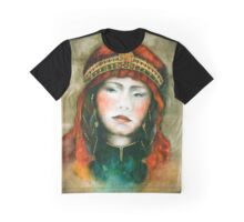 Portrait of nomad woman Graphic T-Shirt