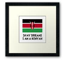Dream Kenyan Framed Print