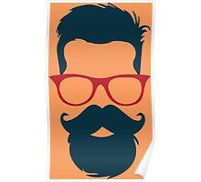 Cool Hipster Poster