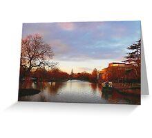 Stratford-upon-Avon Twilight Greeting Card