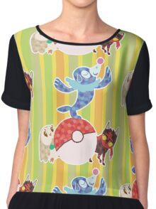 Sun and Moon starters Chiffon Top