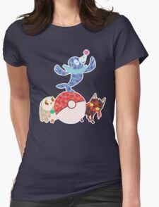 Sun and Moon starters Womens Fitted T-Shirt
