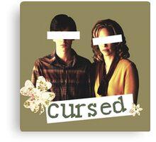 Cursed Canvas Print