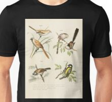 Bilder atlas zur Wissenschaftlich populären Naturgeschichte der Vögel in ihren sämmtlichen Hauptformen Leopold Joseph Fitzinger 1864 044 Unisex T-Shirt