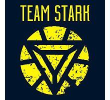 team stark logo Photographic Print