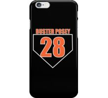 Buster Posey iPhone Case/Skin