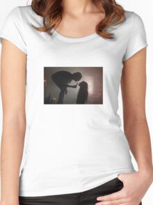 YOU LOOK SO COOL Women's Fitted Scoop T-Shirt