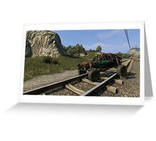 Dying Light Buggy Greeting Card