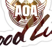 AOA GOOD LUCK Sticker
