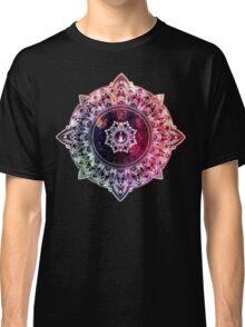 Mandala Color - black Classic T-Shirt