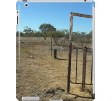 Whistling Bore. Queensland.  Australia. iPad Case/Skin