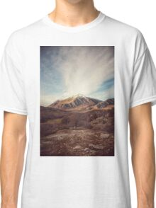 Mountains in the background XVII Classic T-Shirt
