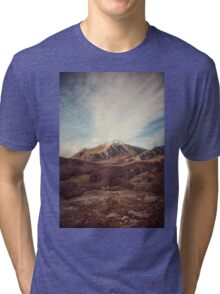 Mountains in the background XVII Tri-blend T-Shirt