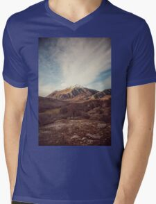 Mountains in the background XVII Mens V-Neck T-Shirt