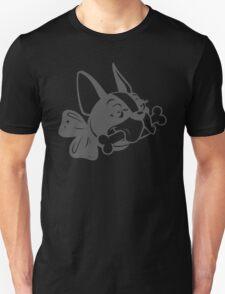 "French Bulldog ""Cherry"" B&W Unisex T-Shirt"