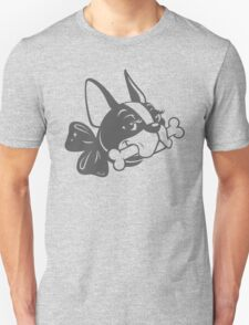 "French Bulldog ""Cherry"" B&W Unisex T-Shirt"