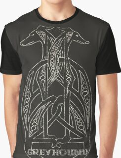 Totem Greyhound Graphic T-Shirt