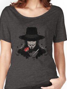 V For Vendetta Women's Relaxed Fit T-Shirt
