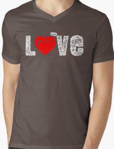 LOVE CATS Mens V-Neck T-Shirt