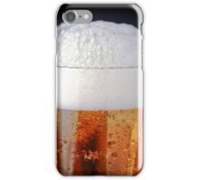 Full glass of cold beer iPhone Case/Skin