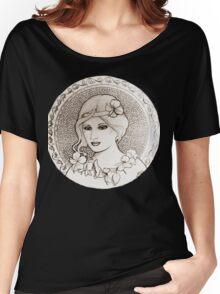 graphic art nouveau Women's Relaxed Fit T-Shirt